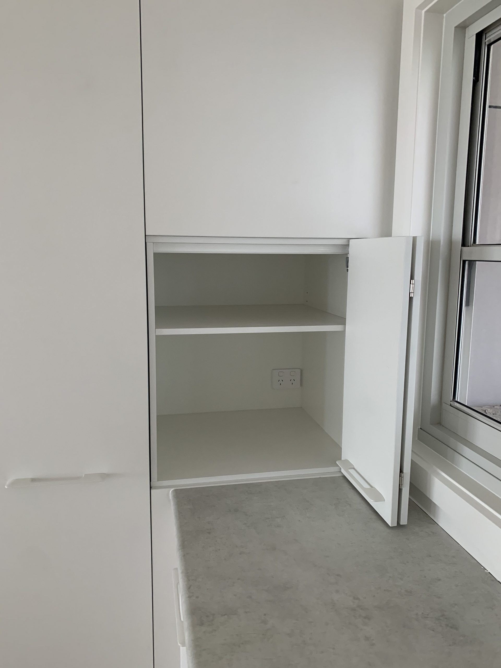 Blind Appliance Pantry